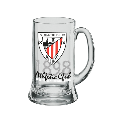 Jarra cerveza cristal Athletic