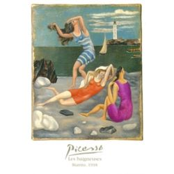 Postal - Picasso - Biarritz