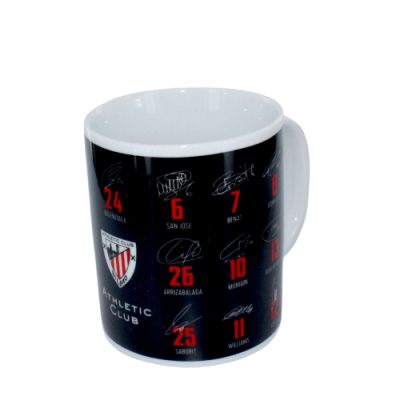 Taza-Mug firmas- Athletic de Bilbao